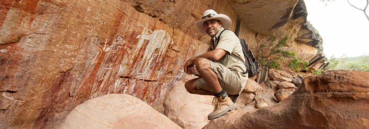 An incredible Aboriginal rock art tour.